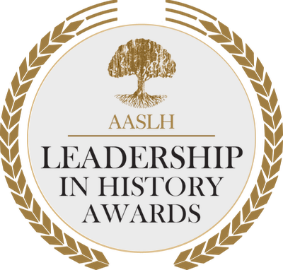 logo for the AASLH's Merit awards