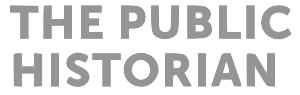 logo for The Public Historian
