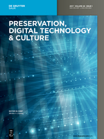 Preservation, Digital technology & culture