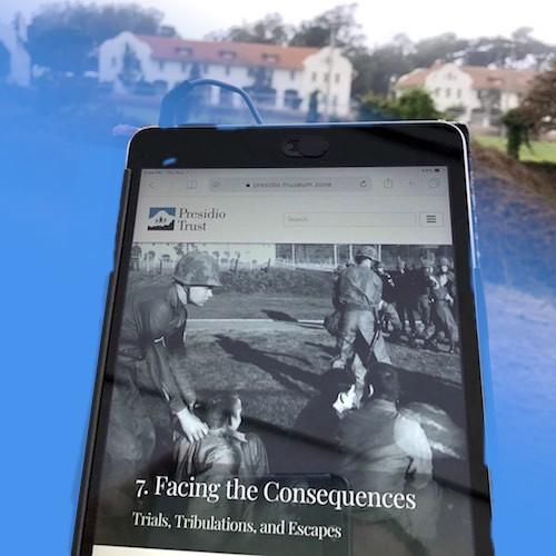 """""""The Presidio 27"""" (mobile app)"""